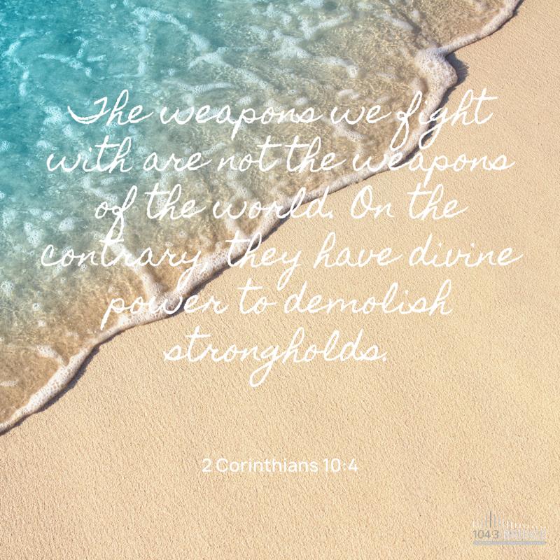 2 Corinthians 10:4