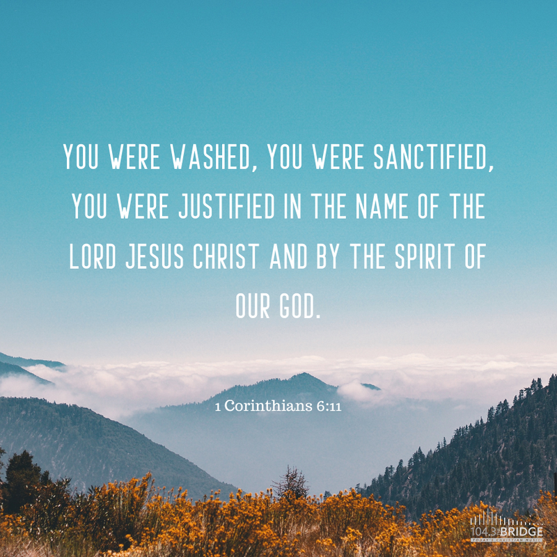 1 Corinthians 6:11