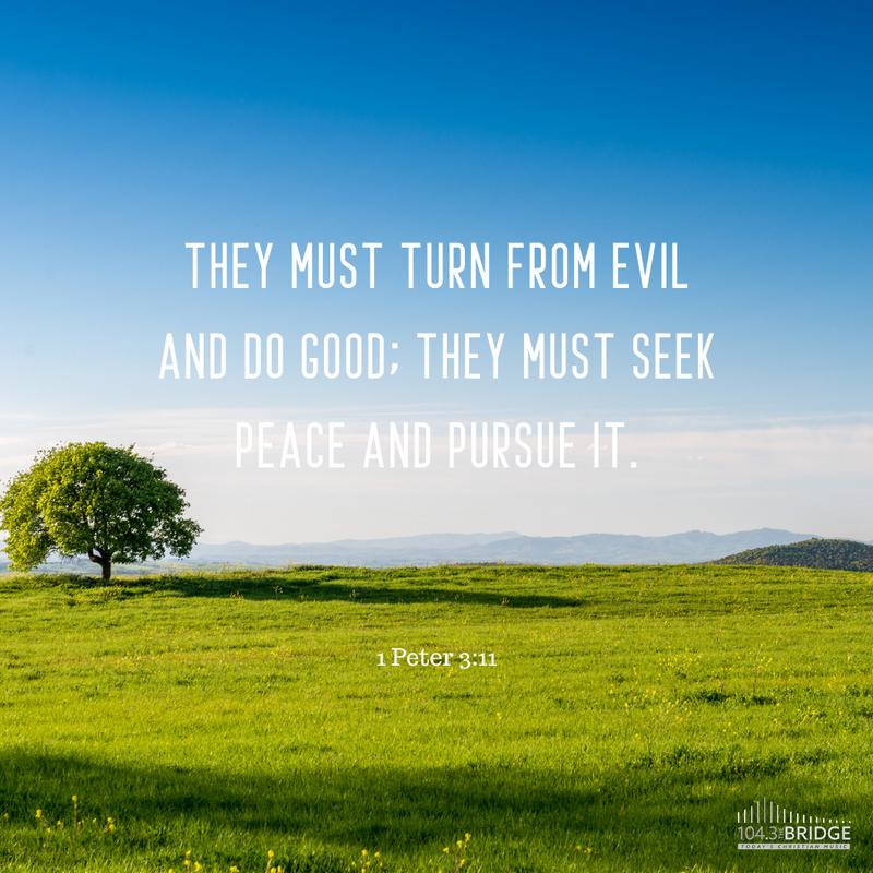 1 Peter 3:11