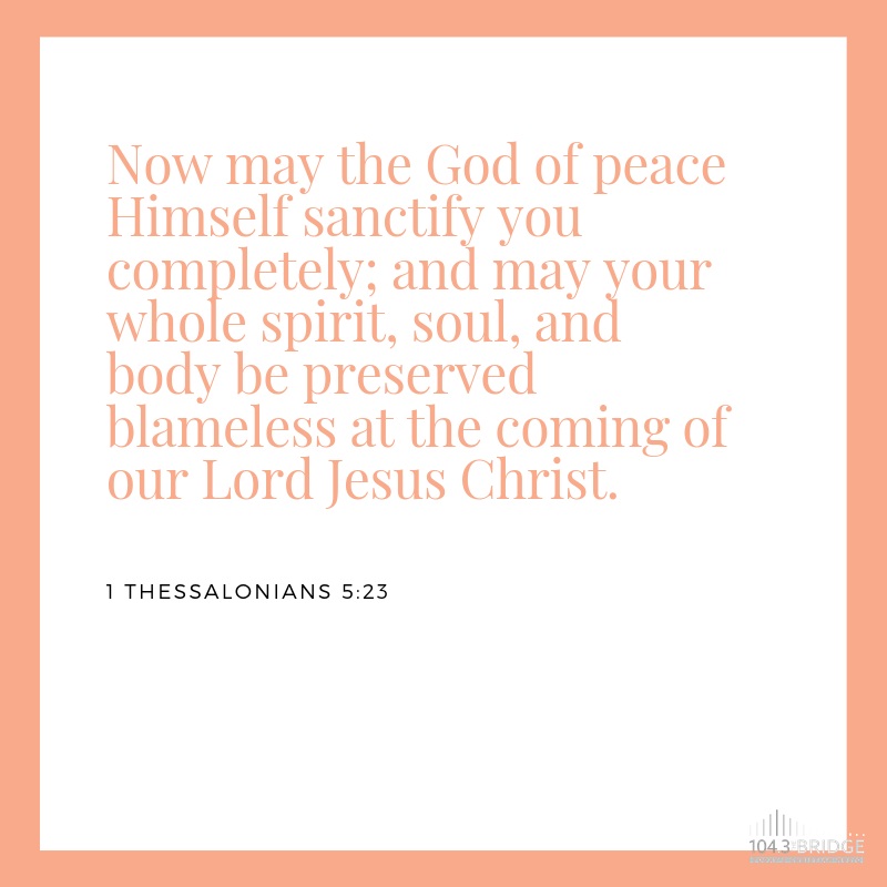 1 Thessalonians 5:23