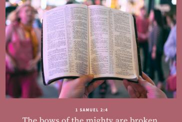 1 Samuel 2:4
