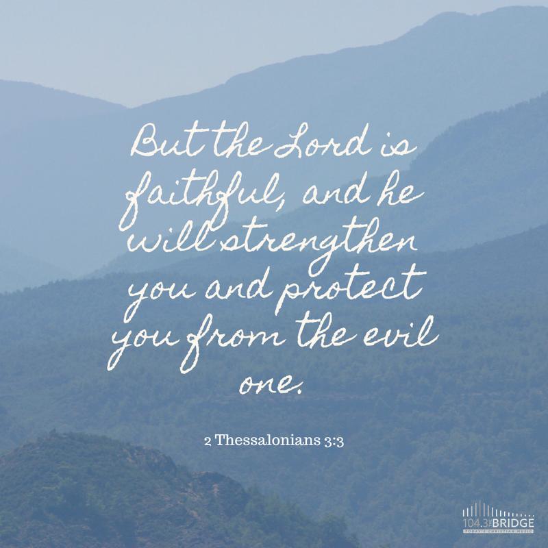 2 Thessalonians 3:3