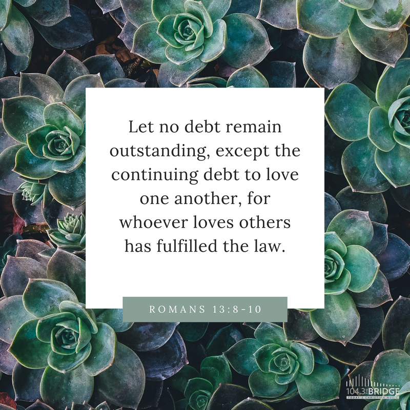 Romans 13:8-10