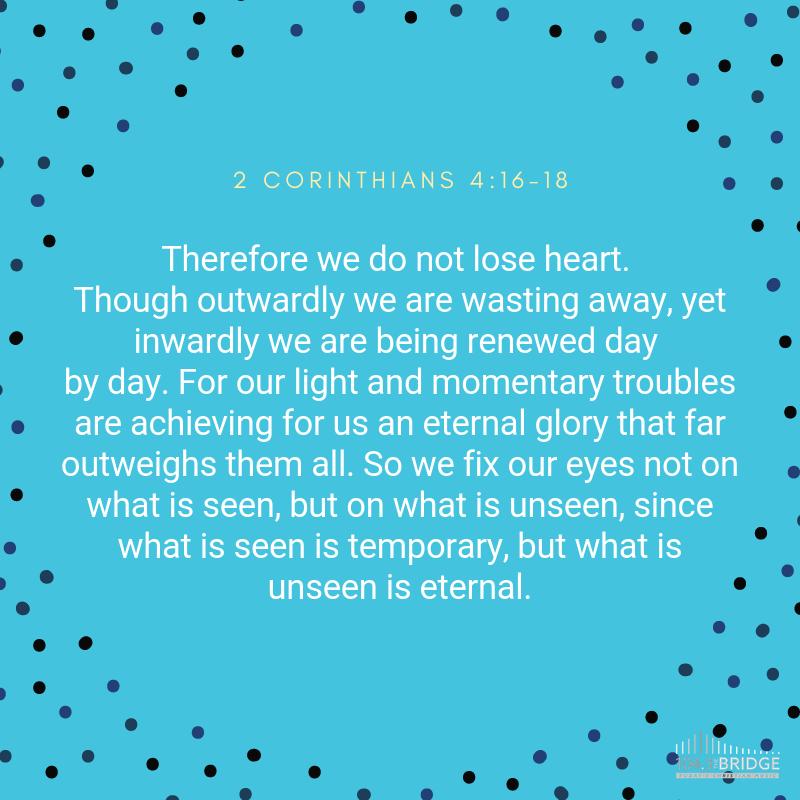 2 Corinthians 4:16-18