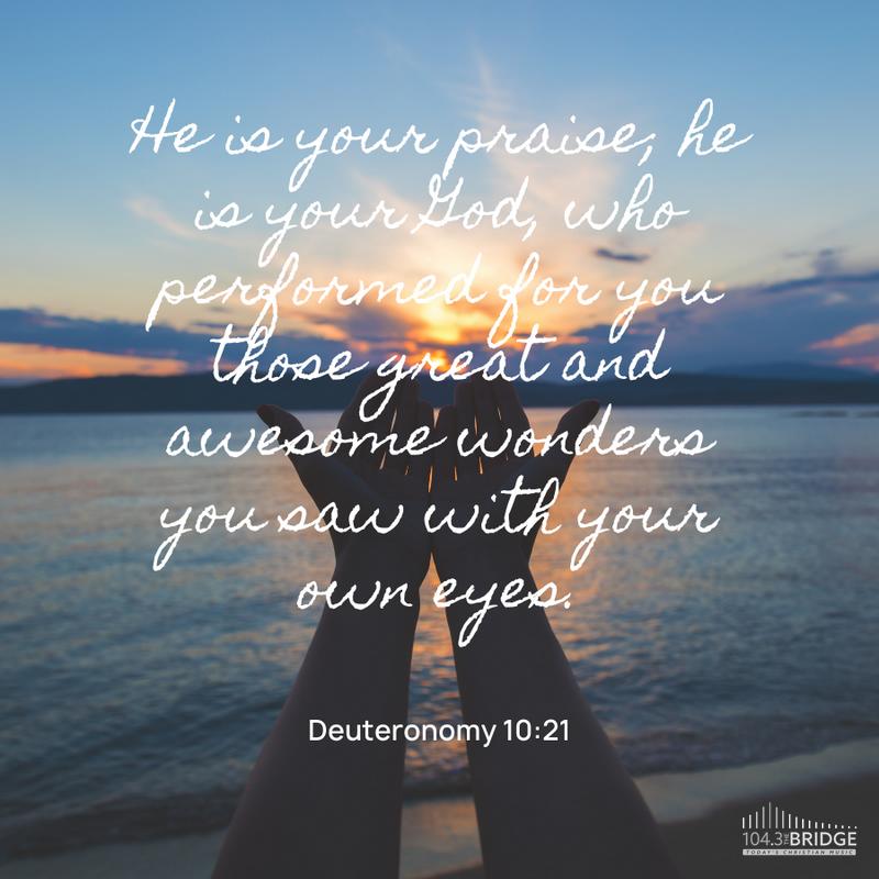Deuteronomy 10:21