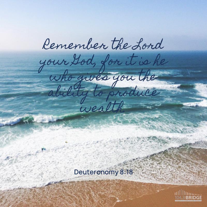 Deuteronomy 8:18