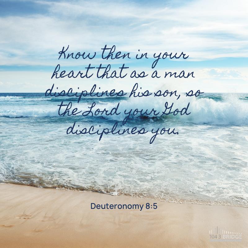Deuteronomy 8:5