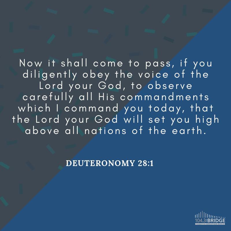 Deuteronomy 28:1