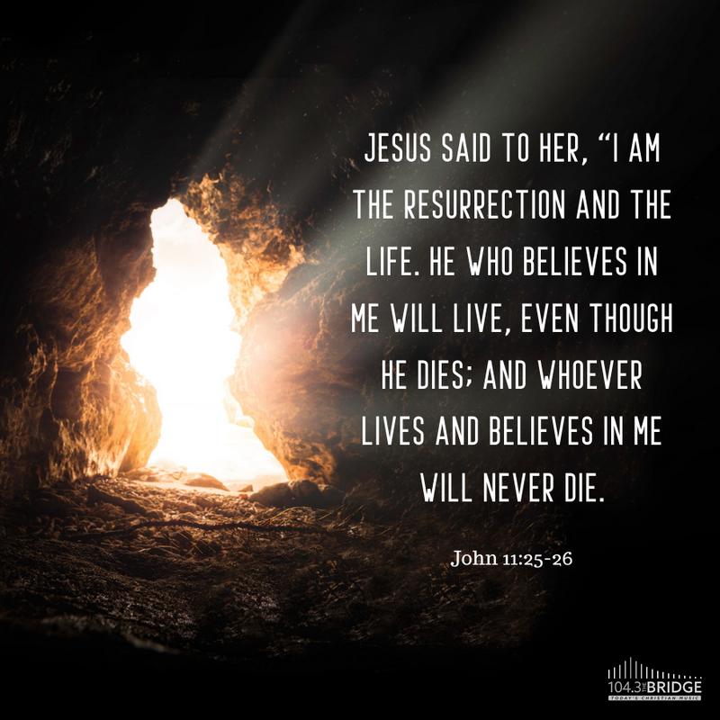 John 11:25-26
